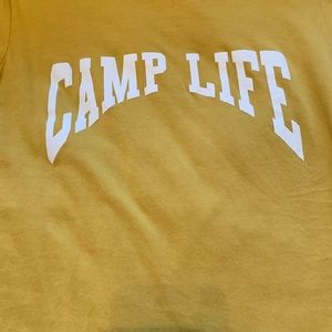 Forever 21 Tops - Forever 21 camp life graphic tee